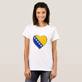 T-shirt La Bosnie-Herzégovine diminuent