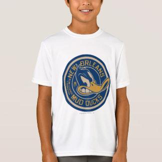 T-Shirt La boue de DAFFY DUCK™ se penche autour du logo