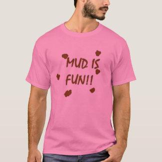T-shirt La boue est l'amusement 2