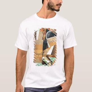 T-shirt La bouteille de Banyuls, 1914 (gouache et collage)