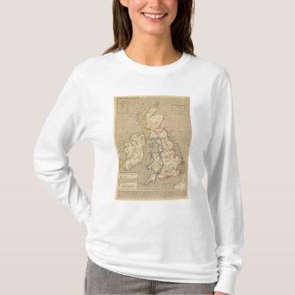 T-shirt La Bretagne Saxonne anglo, 800 apres JC d'american