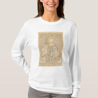 T-shirt La Bretagne Saxonne anglo, Jésus-Christ de 600