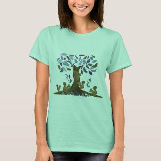 T-shirt La cabane dans un arbre de l'écureuil
