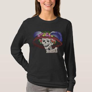 T-shirt La Calavera Catrina en couleurs