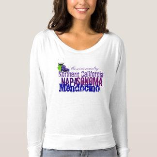 T-shirt la Californie du nord Napa Sonoma
