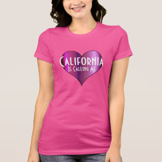 T-shirt La Californie m'appelle