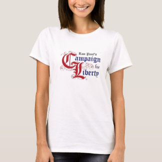 T-shirt La campagne de Ron Paul pour la liberté
