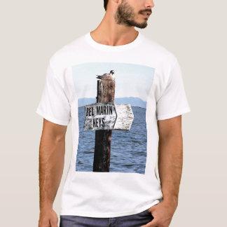 T-shirt La canalisation de bel verrouille le marqueur