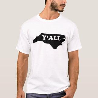 T-shirt La Caroline du Nord Yall