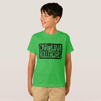 T-shirt La Caroline Rollergirls badine la pièce en t