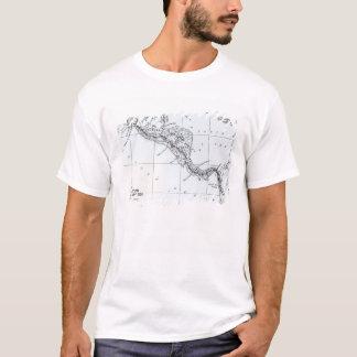 T-shirt La carte a proposé les itinéraires isthmiens de