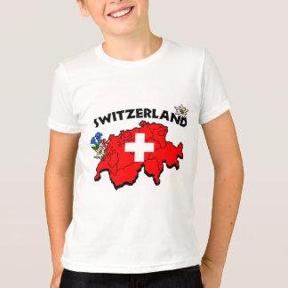 T-shirt La carte de Switz badine la sonnerie