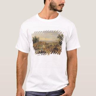 T-shirt La cavalerie luttent sur un pont