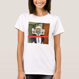 T-shirt La Chambre la plus minuscule dans la chemise de