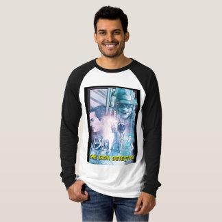 T-shirt La chemise d'affiche illustrée par détective de