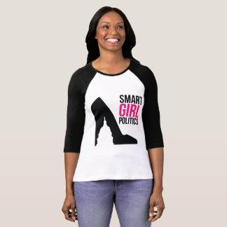 T-shirt La chemise de base-ball de SGP (3/4 de douilles)