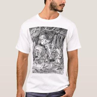 T-shirt La chemise de chevalier blanc