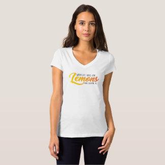 T-shirt La chemise de citron (blanche)