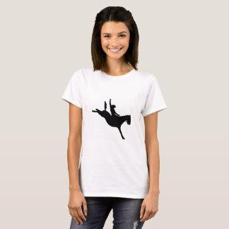 T-shirt La chemise de cowboy, sellent, cheval sauvage,