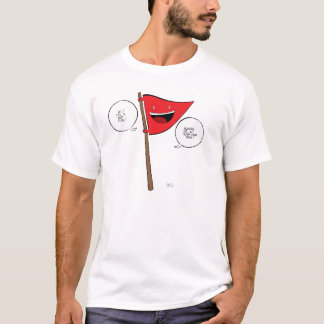 T-shirt La chemise de drapeau rouge !