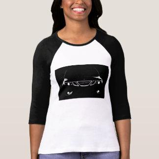 T-shirt La chemise de la longue de douille femme de Saab