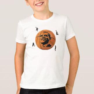 T-shirt La chemise de l'enfant de basket-ball d'Obama