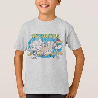 T-shirt La chemise de l'enfant de groupe d'acres des
