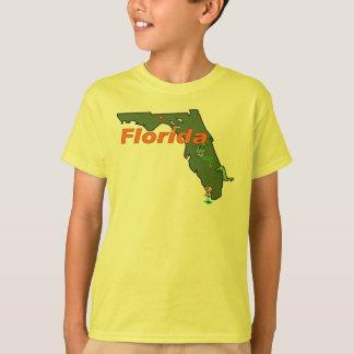 T-shirt La chemise de l'enfant de la Floride