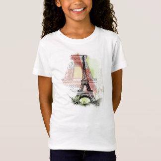 T-Shirt La chemise de l'enfant de Tour Eiffel