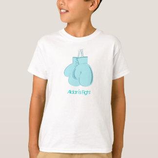 T-shirt La chemise de l'enfant du combat d'Aidan