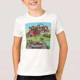 T-shirt La chemise de l'enfant du conte de fées de l'ambre