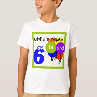 T-shirt la chemise de l'enfant fait sur commande :