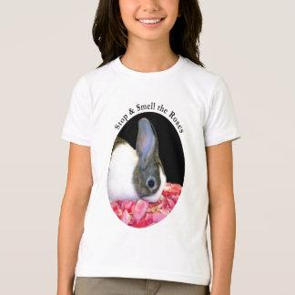 T-shirt La chemise de l'enfant néerlandais de lapin