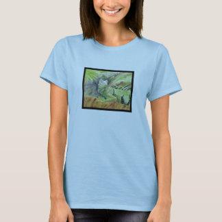 T-shirt La chemise de Sheguana de Ladie vert d'iguane
