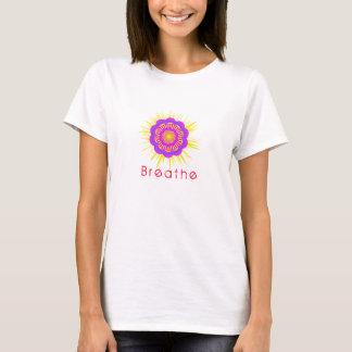 T-shirt La chemise de yoga, respirent, symbole, Namaste