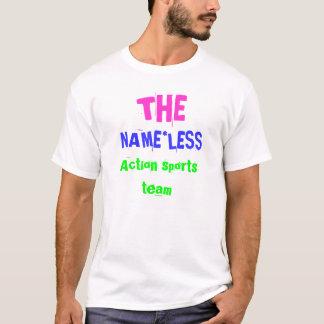 T-shirt La chemise d'équipe de sports d'action de