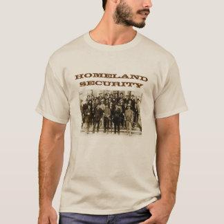 T-shirt La chemise des agents de sécurité de patrie