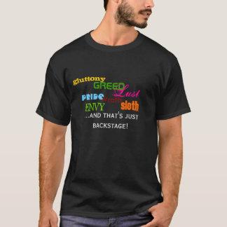 T-shirt La chemise des coulisses de sept péchés mortels