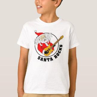 T-shirt La chemise des enfants de roches de Père Noël