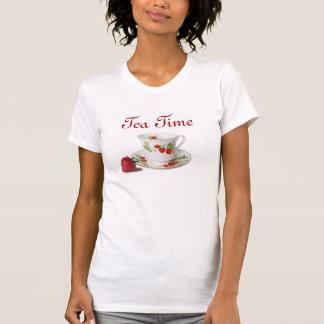 T-shirt La chemise des femmes de temps de thé