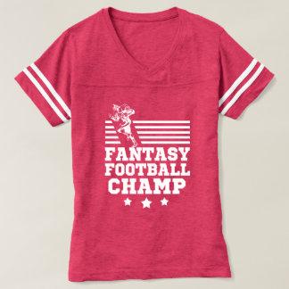 T-shirt La chemise des femmes drôles de champion du