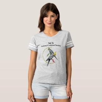 T-shirt La chemise des femmes du football de NCS