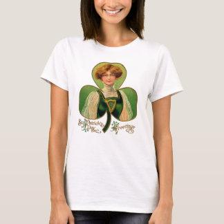 T-shirt La chemise des femmes du jour de St Patrick