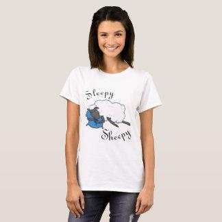 T-shirt La chemise des femmes somnolentes de Sheepy