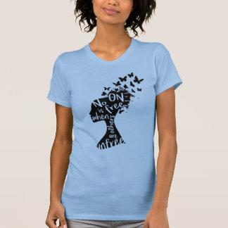 """T-shirt La chemise des femmes """"Unfree"""" du NU de thêta XI"""