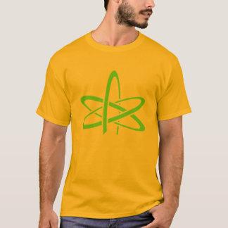 T-shirt La chemise des hommes athées d'atome