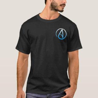 T-shirt La chemise des hommes athées de symbole