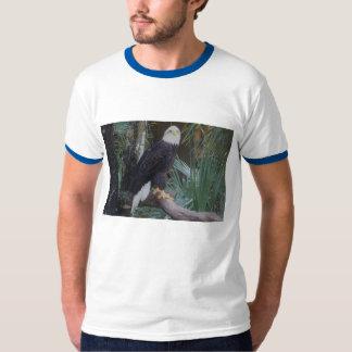 T-shirt La chemise des hommes d'aigle chauve