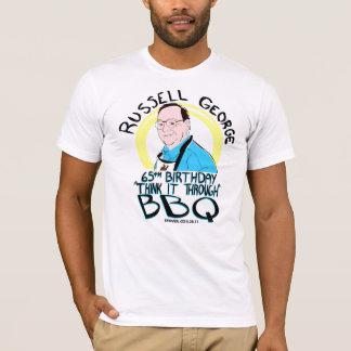 T-shirt La chemise des hommes de BBQ de papa