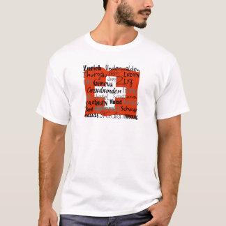 T-shirt La chemise des hommes de cantons suisses